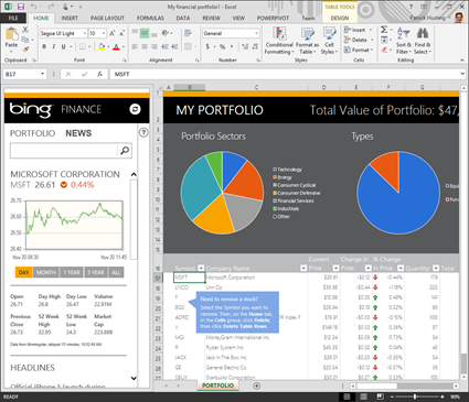 microsoft, excel, office, 2013, power view, business intelligence